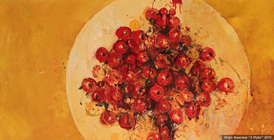 V. Ruseckas 'A Plate'