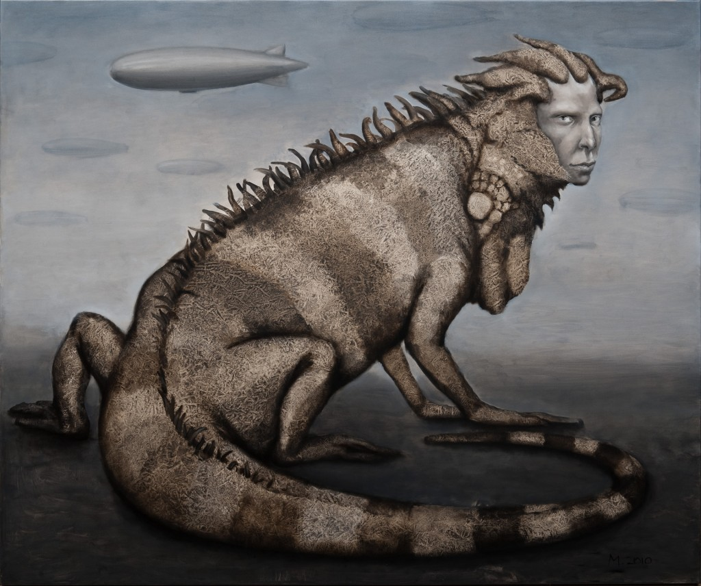 Migle Kosinskaite - Iguana and a Dirigible