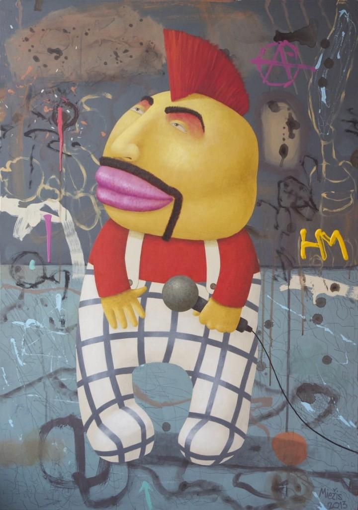 Andrius Miezis - Rock Monster