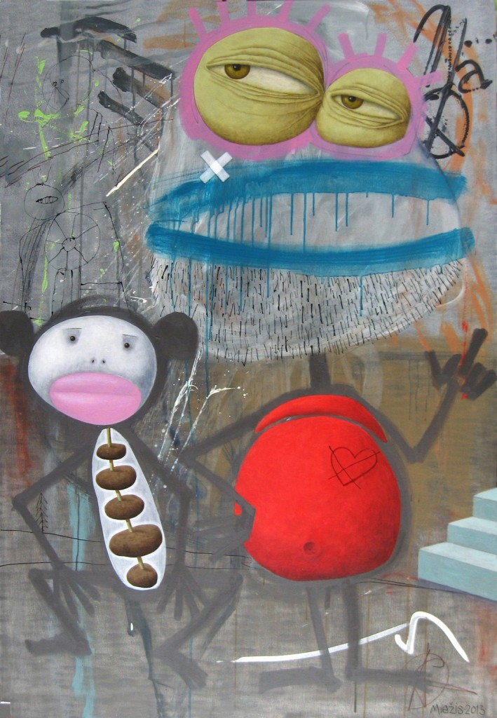 Andrius Miezis - Monkey and Charles Bukowski