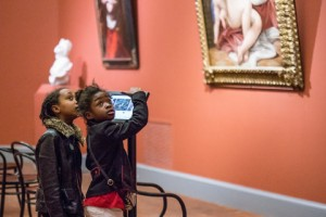 A 2013 exhibition at the Worcester Art Museum in Massachusetts provided visitors information on iPads. Credit Erb Photography